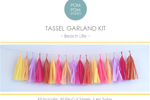 Tassel Garland Kit - Beach Life