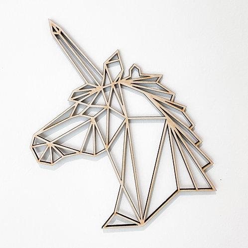 Geometric Unicorn Wall Art