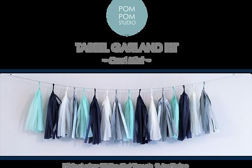 Tassel Garland Kit - Cool Mint