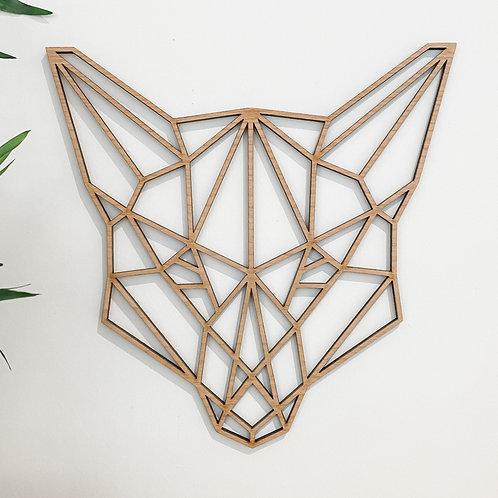Geometric Fox Wall Art