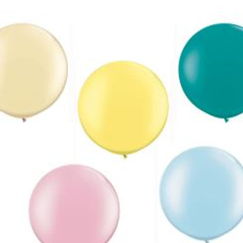 Single Giant 'Qualatex' Latex Balloons