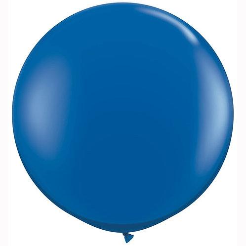 Giant Jewel Sapphire Balloon & Tassel Tail