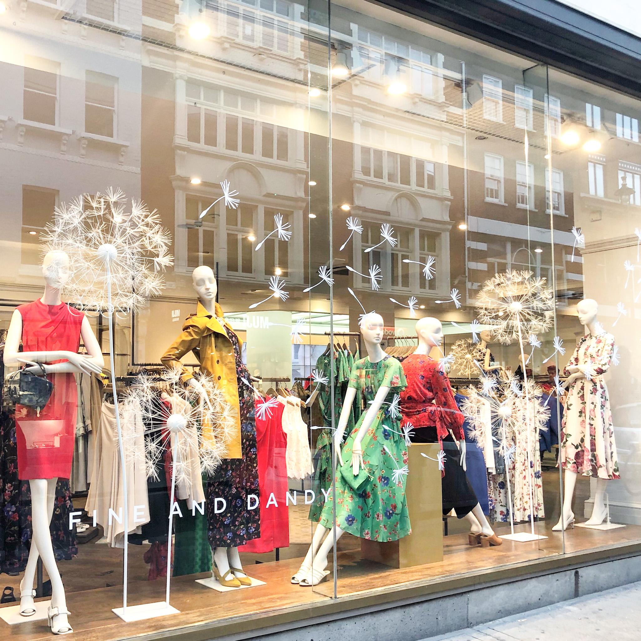 covent garden retail window
