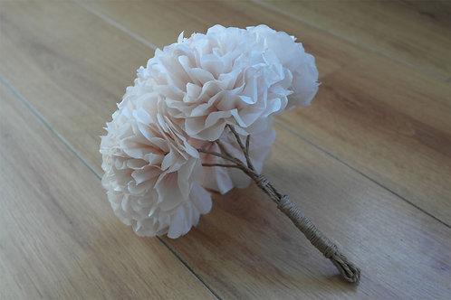 """8"""" Pom Flower Bouquet"""