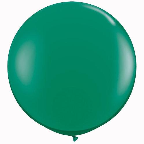 Giant Jewel Emerald Balloon & Tassel Tail