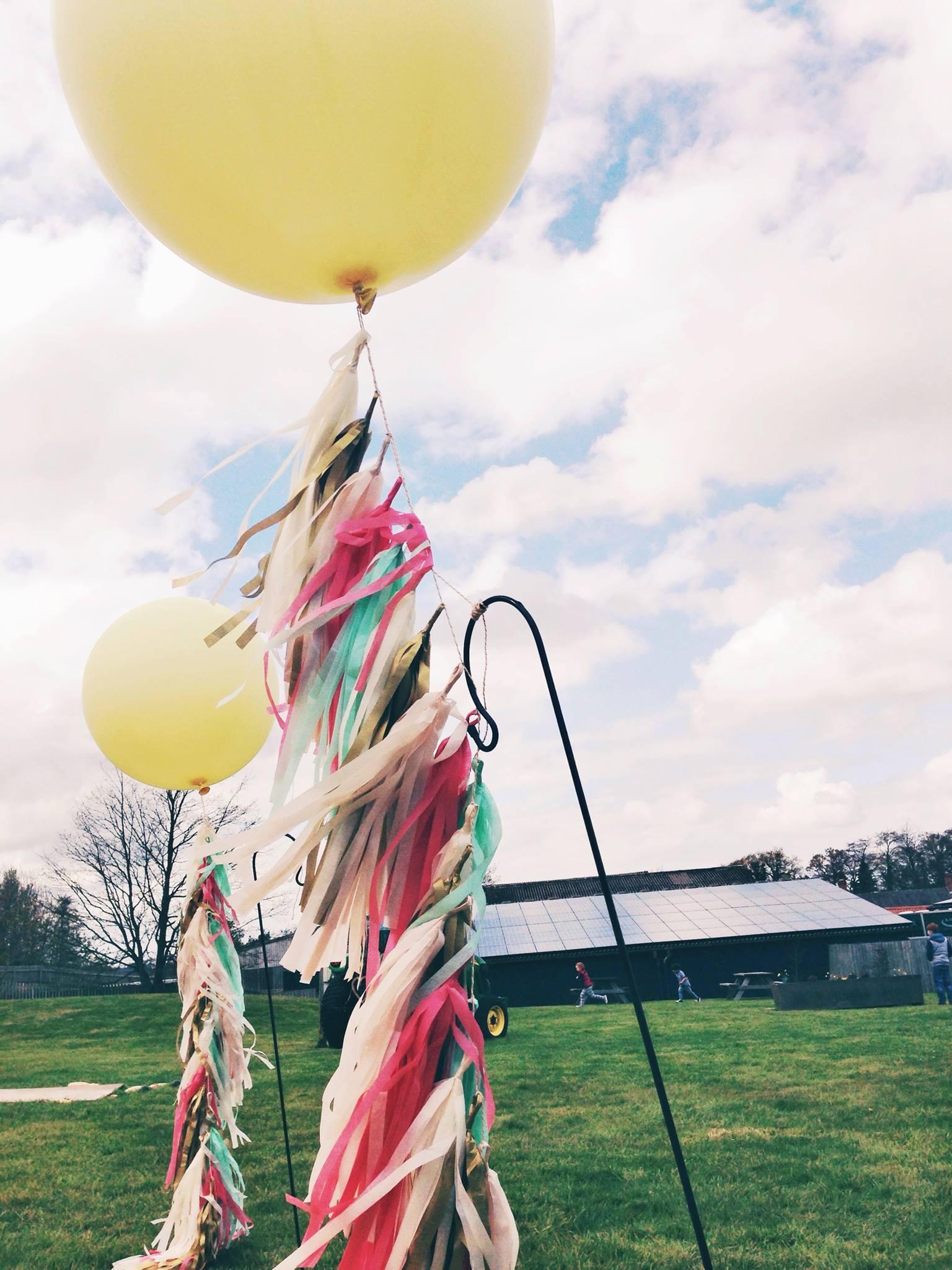 Giant Balloona & Tassel Tails