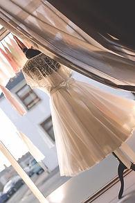 Bridal Shop Window Display Tasel Garland
