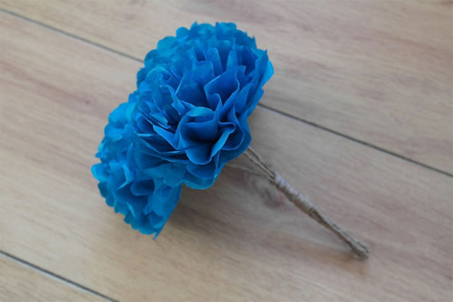 "6"" Pom Flower Bouquet"