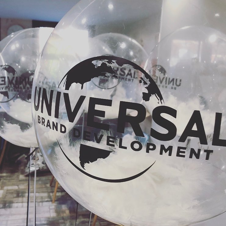Universal Brand Bubble Balloons