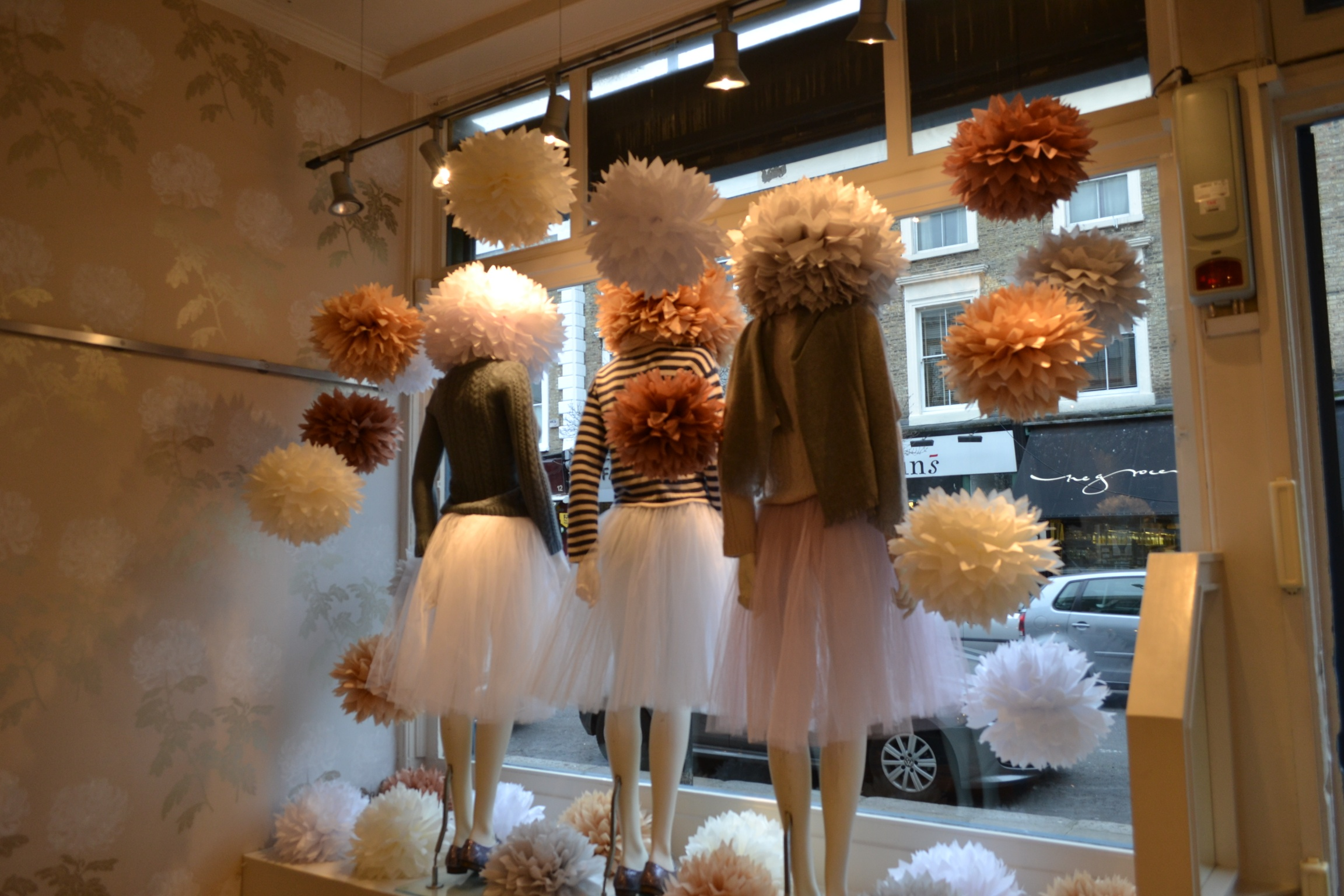 London Boutique Shop Window Display