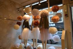 London Boutique Shop Window Display