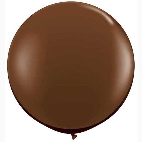 Giant Chocolate Balloon & Tassel Tail