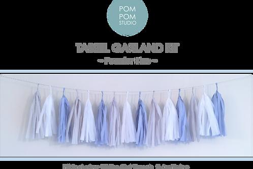 Tassel Garland Kit - Powder Blue