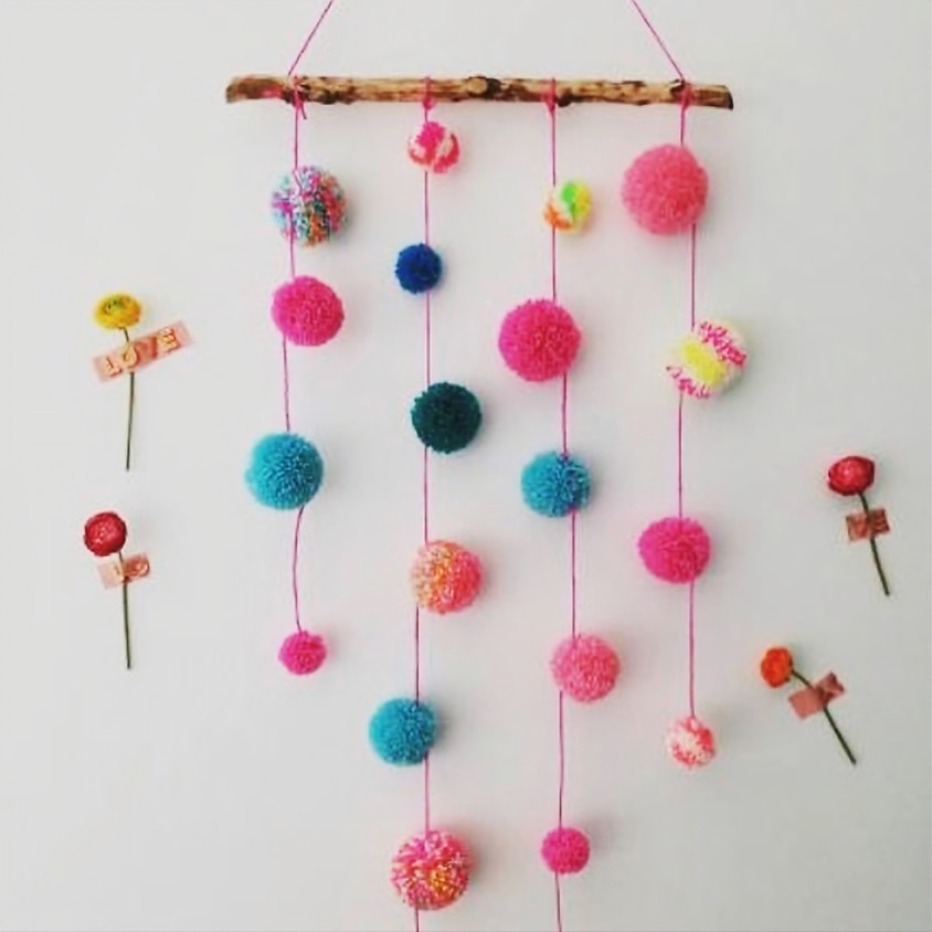 Pom Pom Hanging Workshop - £45