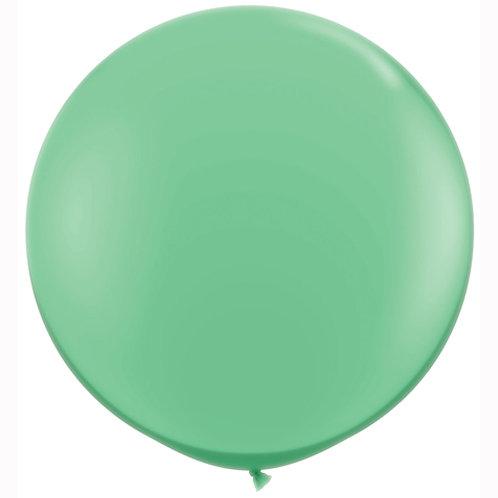Giant Wintergreen Balloon & Tassel Tail