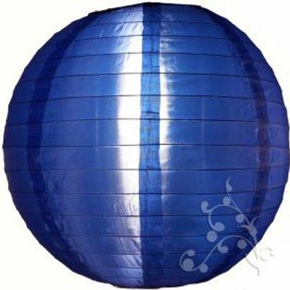 Dark Blue Nylon Hanging Lanterns