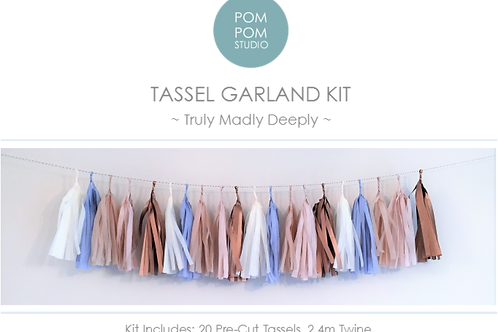 Tassel Garland Kit - Truly Madly Deeply