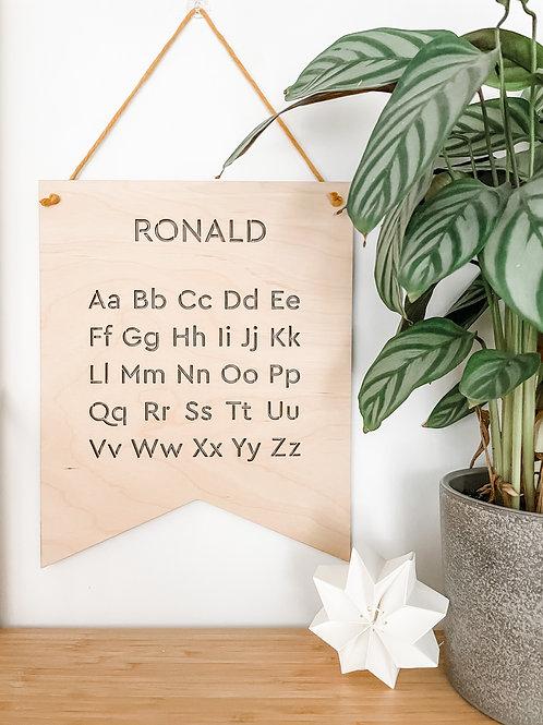 Alphabet Hanging