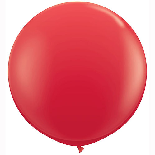 Giant Red Balloon & Tassel Tail