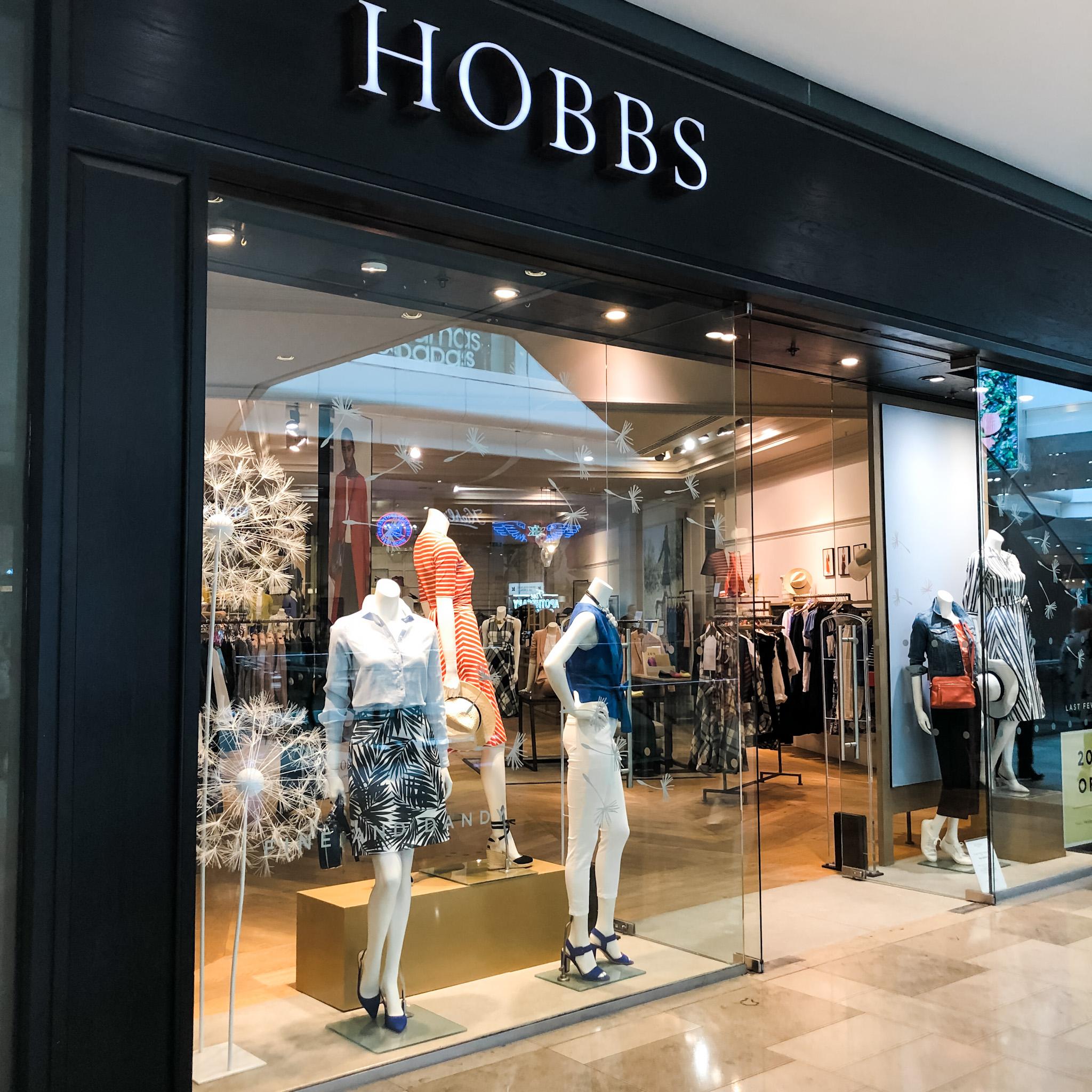 Hobbs window display