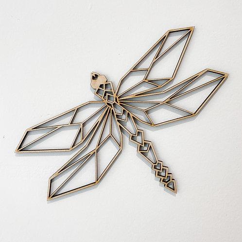 Geometric Wall Art - Dragonfly