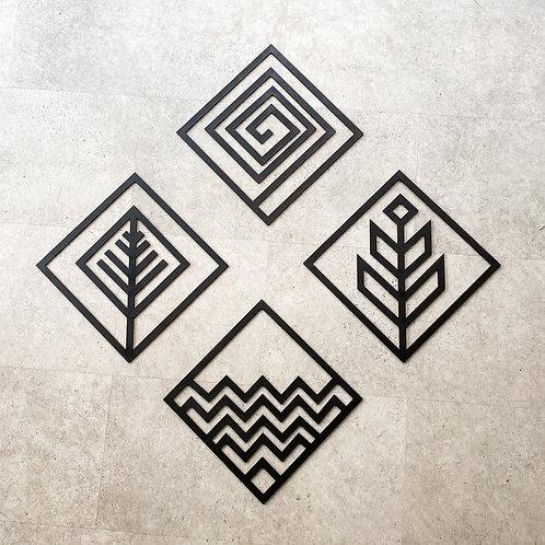 'Four Elements' Wall Art