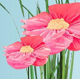 Hooper Paper Flowers | Window Display Props | Giant flowers