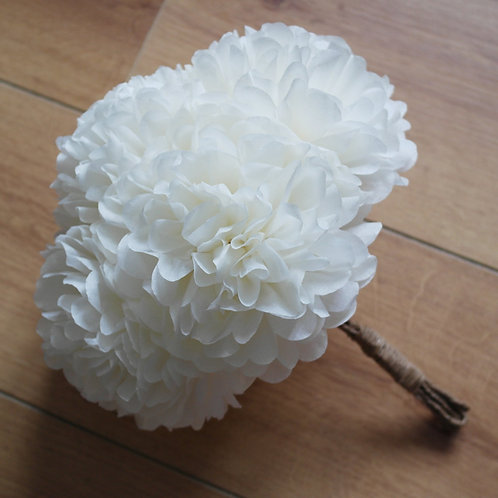 "10"" Pom Flower Bouquet"