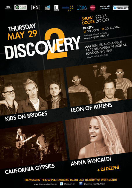 Discovery 2 ft Kids On Bridges + Leon Of Athens + California Gypsies + Anna Pancaldi