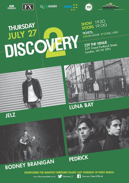Thursday 27th July, 2017 - Jelz , Luna Bay, Rodney Branigan , Pedrick