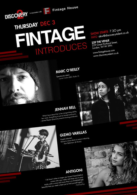 Invite Only - 'Fintage Introduces' in association with Discovery 2
