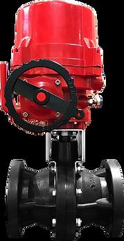 Ankuk Valve - Actuator Electric FRP Ball Valve