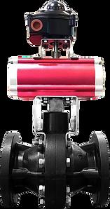 Ankuk Valve - Actuator Double FRP Ball Valve