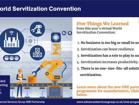 Five things we learned from the World Servitization Convention 2021