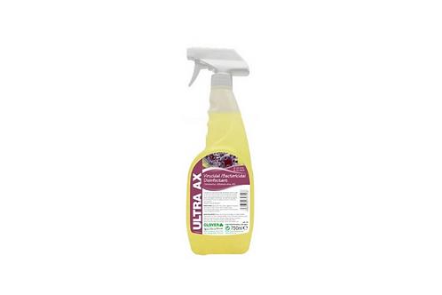 Ultra AX Virucidal Cleaner - 750ml. EN14476 Approved Against Coronaviruses