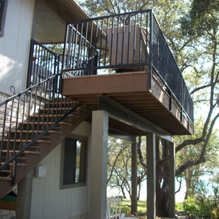 UPPER DECK IN CANYON LAKE TEXAS