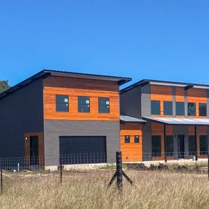modern home in fischer tx