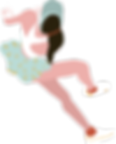 muchacha deportiva