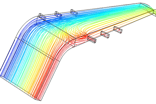 Optimisation of Exhaust Baffle Components via CFD Modelling