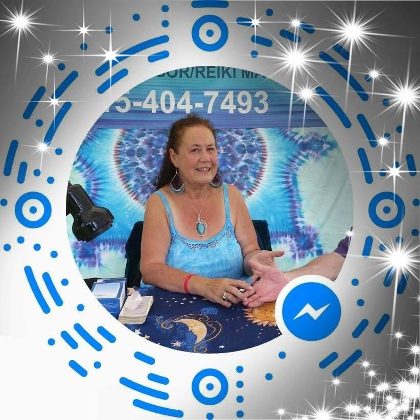 Joan Kimball- The Palm Reading Lady