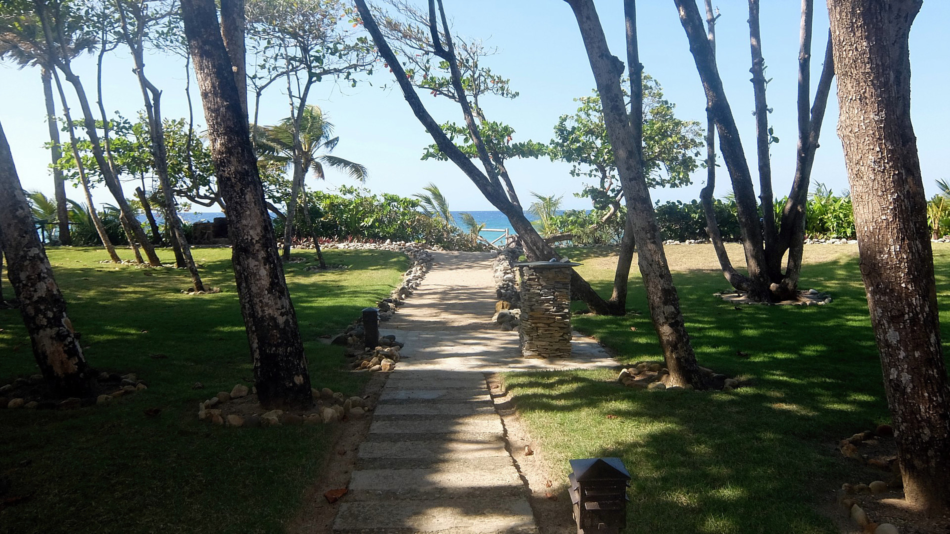 Beach Path and Foot Bath