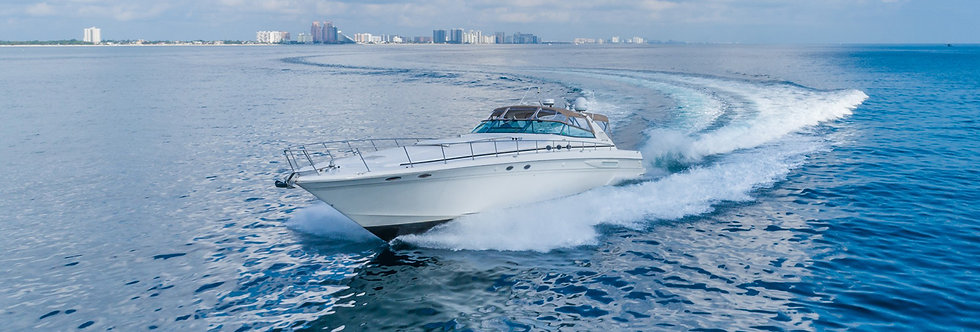 63' Sea Ray Yacht