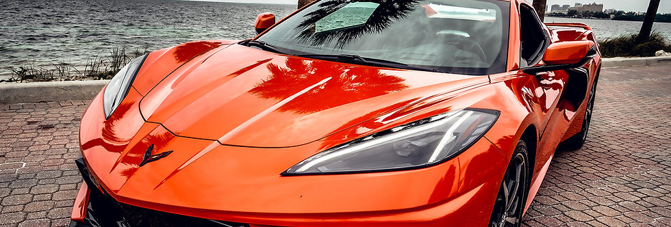 Luxury Cars Corvette