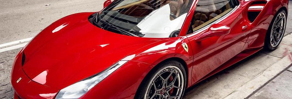 Luxury Cars Ferrari 488