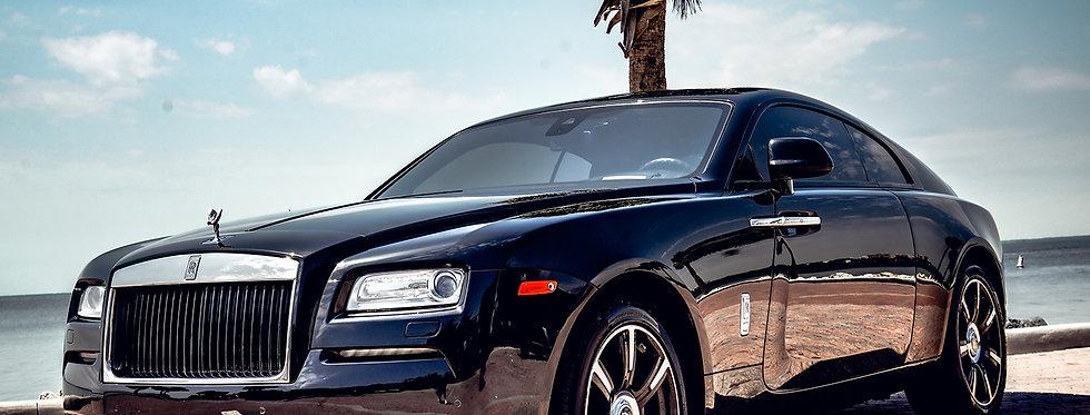 Luxury Cars Rolls Royce Wraith