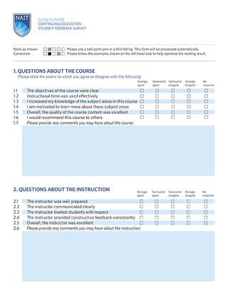 Instructor Workbook