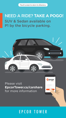 POGO ad for EPCOR Tower