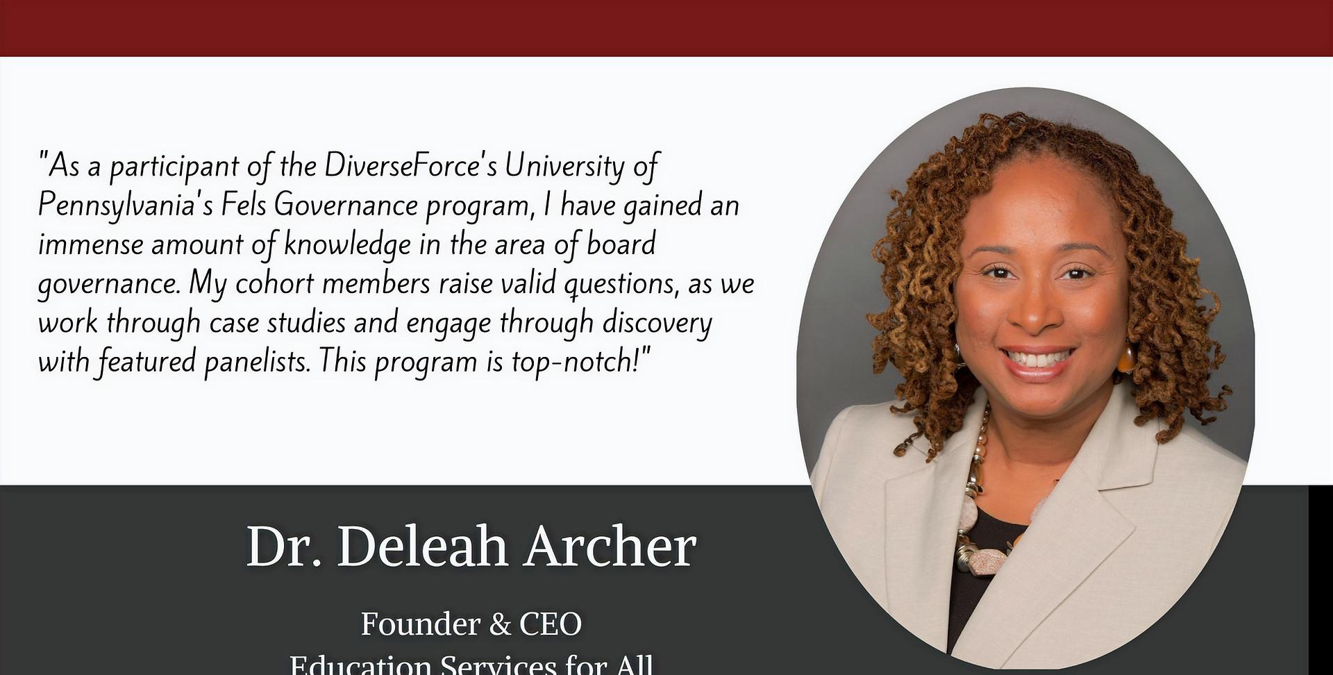 Dr. Deleah Archer