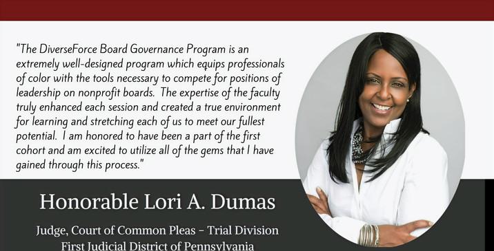 Honorable Lori Dumas