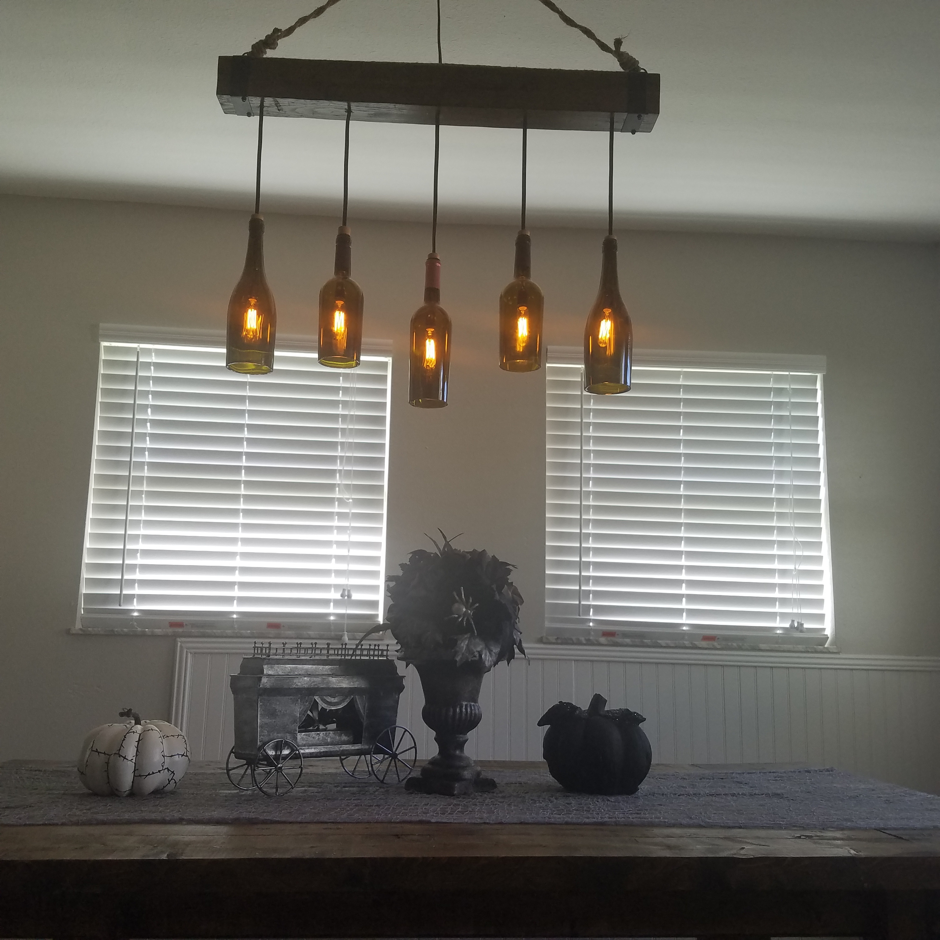 Rustic Wine Glass Chandelier Furniture Design